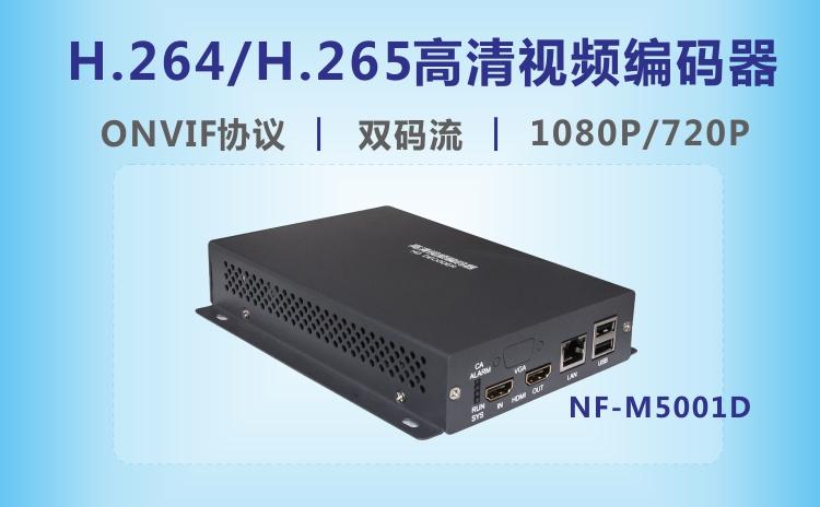 视立方新品-H.265高清视频编码器